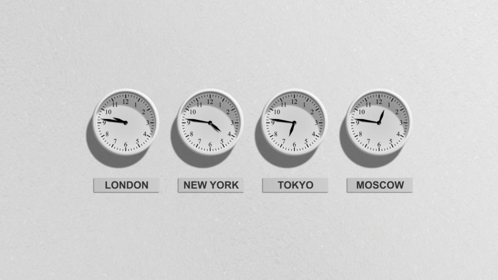 FXは24時間取引できる!時間帯ごとの特徴と最も盛り上がる時間帯